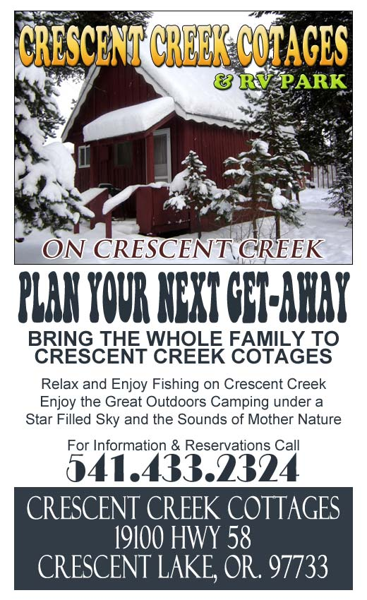 Crescent Creek Cottages at Crescent Creek